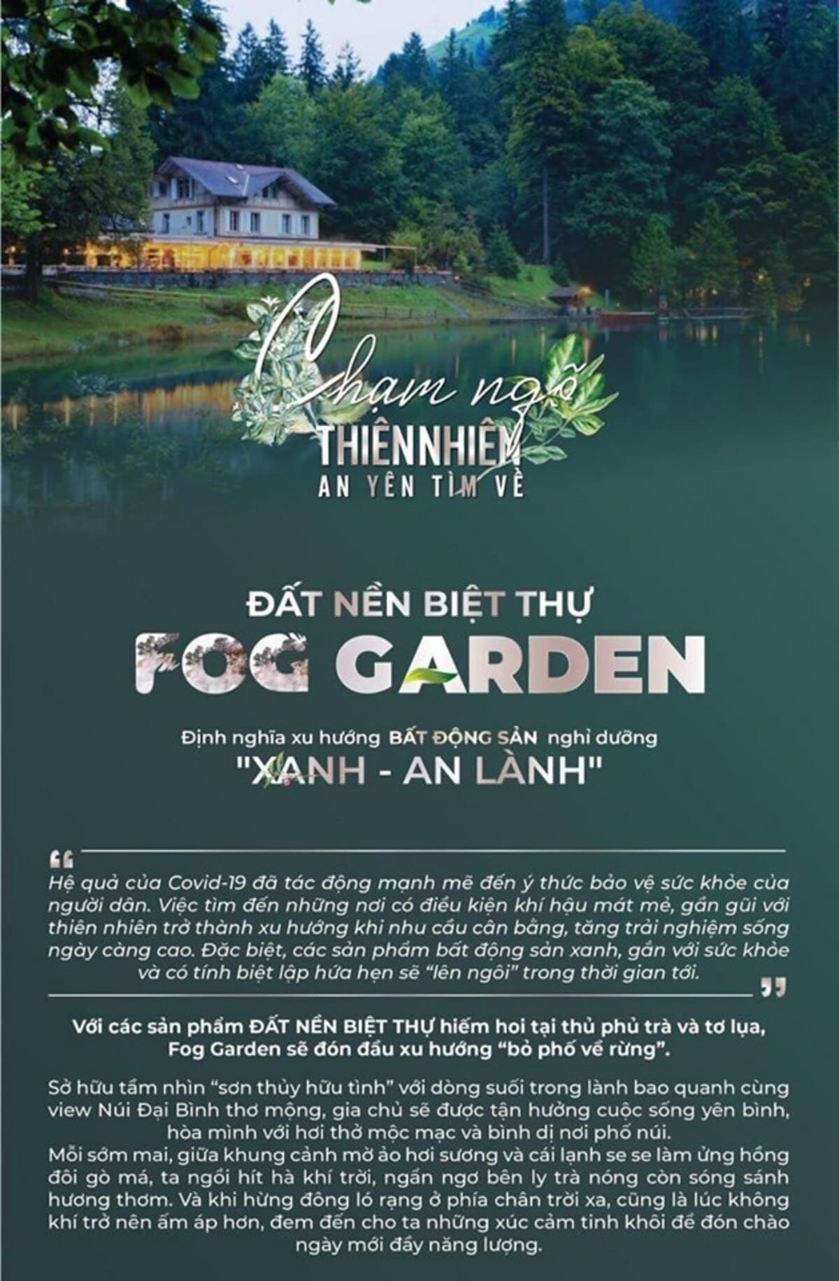 Du an Fog Garden Bao Loc